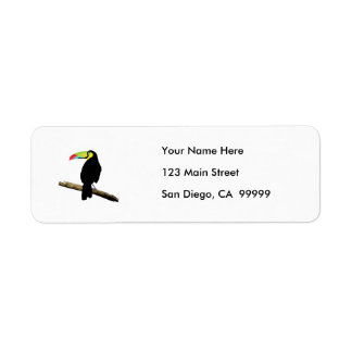 Simple Toucan Label