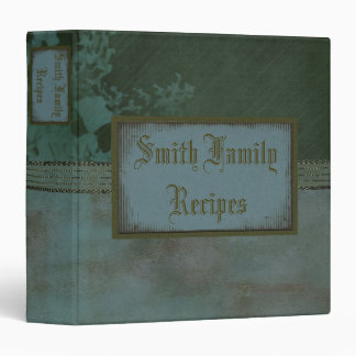Simple Tranquility Recipe Binder