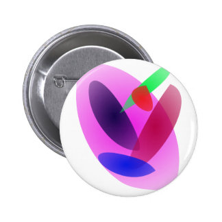 Simple Translucent Abstract Art Pins