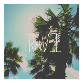 Simple Travel Template Poster