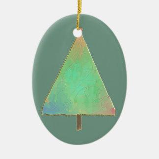 Simple Tree Ceramic Ornament