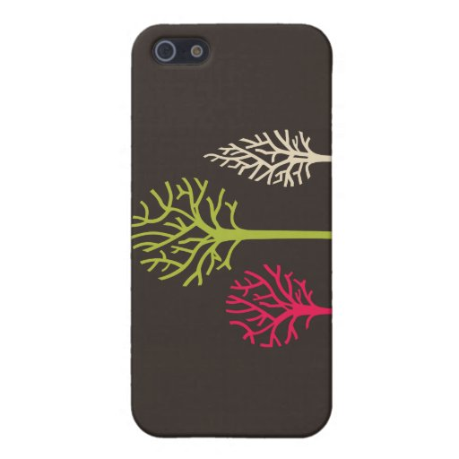 Simple Trees iPhone 4 iPhone 5 Cover