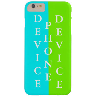 Simple Trendy iPhone Case Spring Lime Yellow 27 Barely There iPhone 6 Plus Case