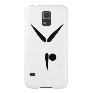 Simple Tumbler Gymnast Gymnastics Symbol Galaxy S5 Case