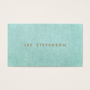 sm_business_cards Simple, Turquoise Blue, Stylish Minimalist Business Card