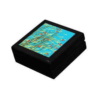 Simple underwater scene gift box