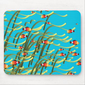 Simple underwater scene mouse pad
