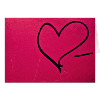 Simple Valentine's Day Heart Card