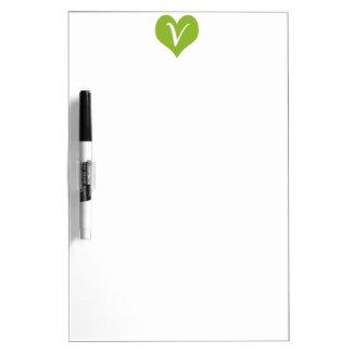 Simple Vegan Graphic Dry-Erase Whiteboards