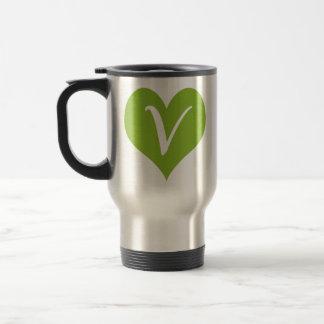 Simple Vegan Graphic Travel Mug