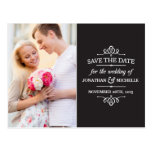 Simple Vintage | Photo Save the Date Postcards