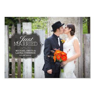 Simple Vintage Wedding Announcement Classic