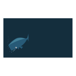 Simple Whale Business Cards