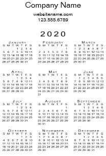 Uf Calendar 2020.Black And White Modern Calendars Zazzle