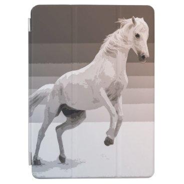 Simple White Horse Artwork   iPad Air Case