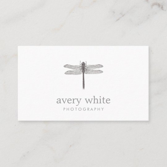 Simple white nature professional photography business card zazzle simple white nature professional photography business card reheart Gallery