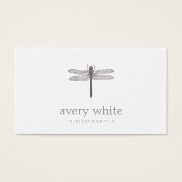 sm_business_cards Simple White Nature Professional Photography Business Card