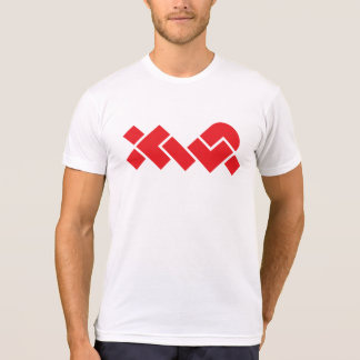 Simple White/Red XWP T-Shirt