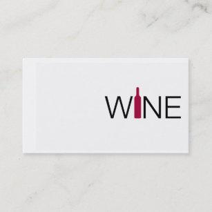 Wine business cards zazzle simple wine business card colourmoves