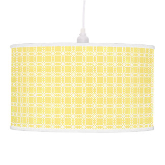 Simple Yellow Celing Lamp