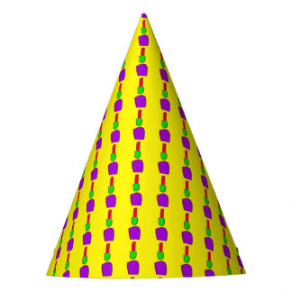 Simple Yellow Party Hat