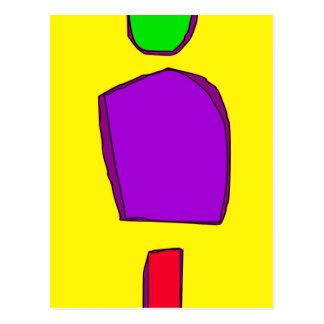 Simple Yellow Postcard