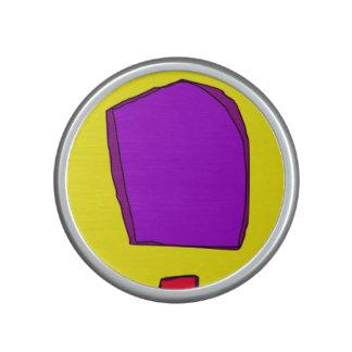 Simple Yellow Speaker