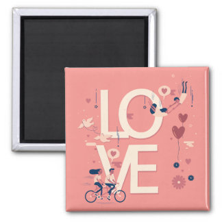 Simple yet Elegant Valentine Couples | Magnet