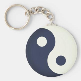 Simple Yin-Yang Keychain