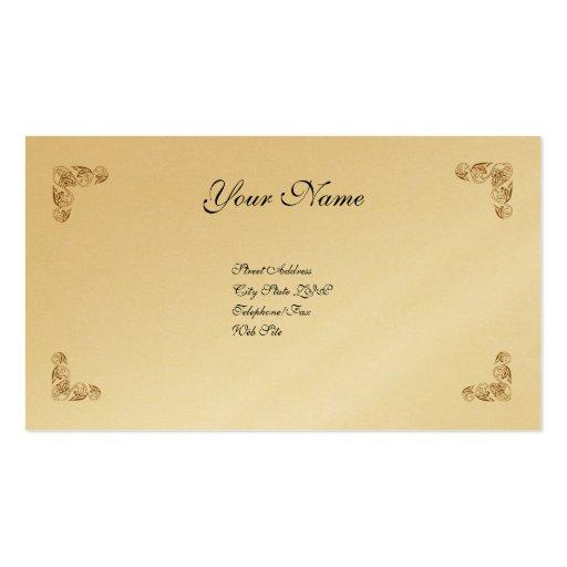 Simplemente elegante tarjetas de visita