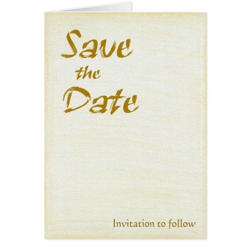 Simplemente invitación del boda del color felicitaciones