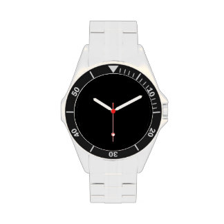 Simplemente negro relojes