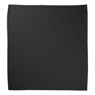 Simplemente negro bandanas