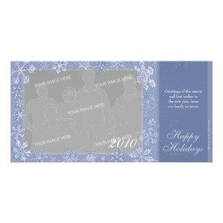 Simplemente opción horizontal 1 de la tarjeta de tarjetas con fotos personalizadas