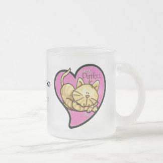 Simplemente Purrfect - taza del gatito