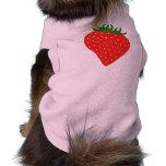Simplemente ropa de encargo del mascota de la fres camisas de mascota