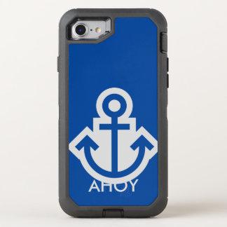 Simplemente símbolos/iconos - ANCLA + ideas Funda OtterBox Defender Para iPhone 7