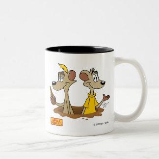 Simplemente taza de Meerkats