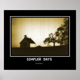 Simpler Days Poster