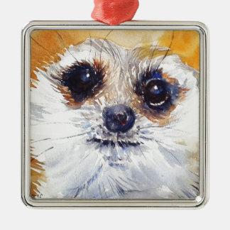 Simples! Meerkat Metal Ornament