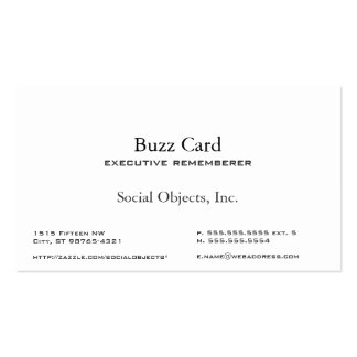 Simplest Serif American Garamond Gothic Template Double-Sided Standard Business Cards (Pack Of 100)