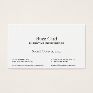 Simplest Serif American Garamond Gothic Template Business Card