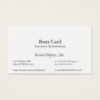 Simplest Serif American Garamond Template Business Card