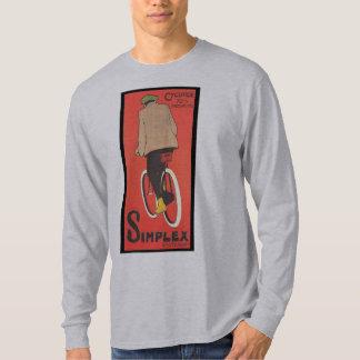 Simplex Bicycle Poster Art - 1907 T-Shirt