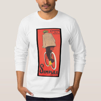 Simplex Bicycle Poster Shirt