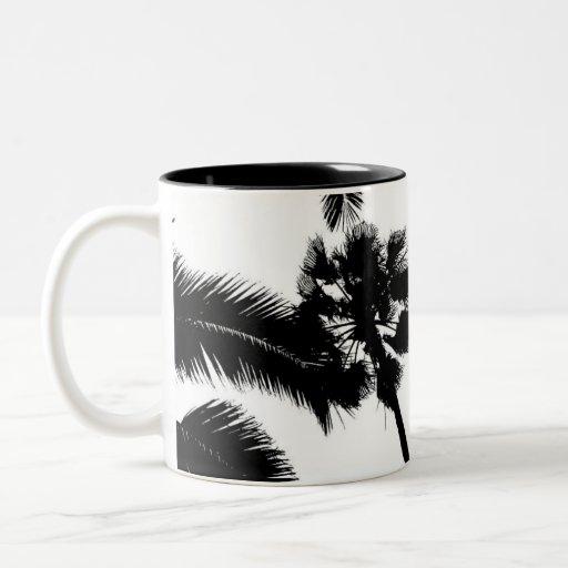 simplicidad del cali (negro) tazas de café