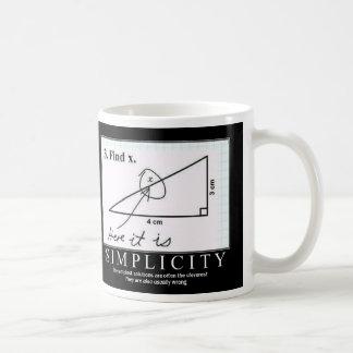 Simplicidad: Taza