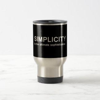 Simplicidad Taza Térmica