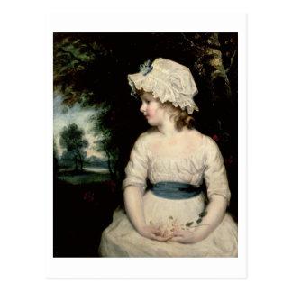 Simplicidad - un retrato de Srta. Theophilia Postal