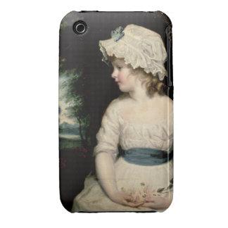 Simplicity - A Portrait of Miss Theophilia Ghatkin Case-Mate iPhone 3 Case